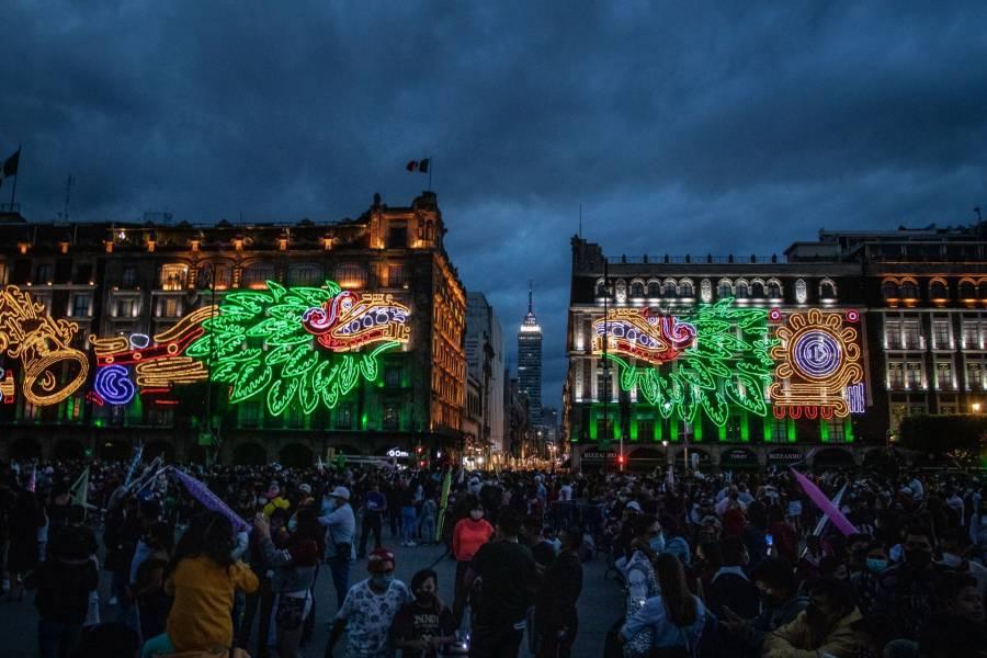 CDMX alista ceremonia del Grito de Independencia en el Zócalo