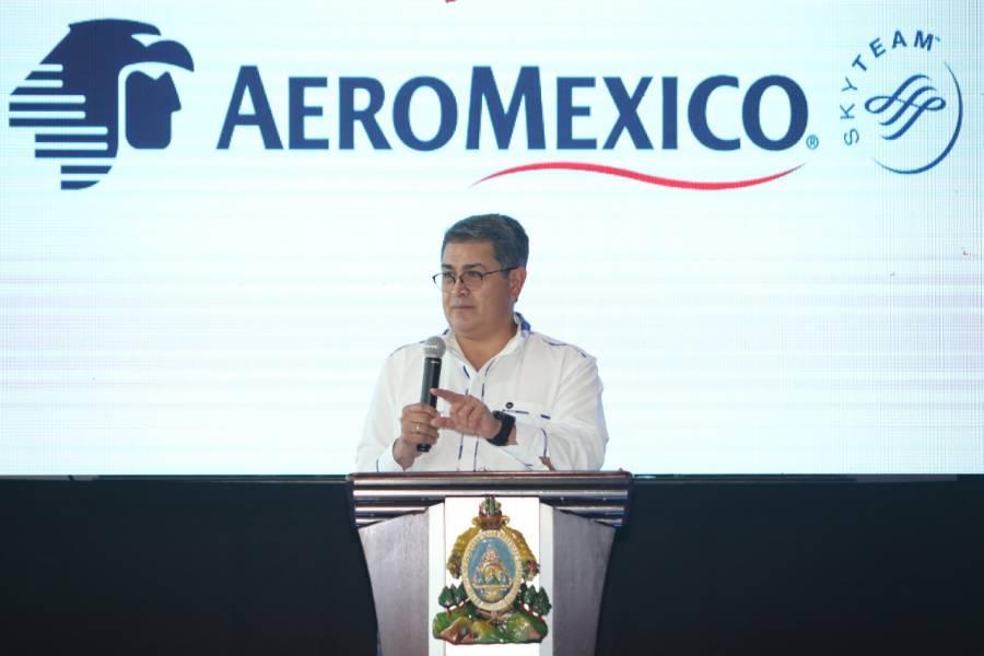 México y Honduras se conectan por Aeroméxico