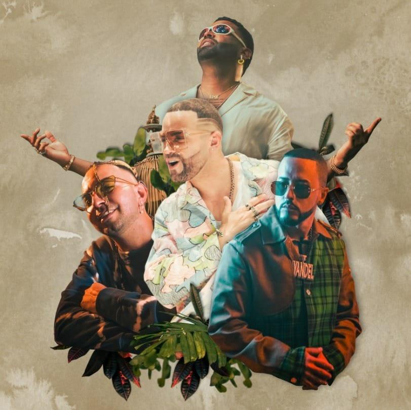 """Nacho estrena nueva versión de """"La Buena Remix"""", con Yandel, Zion y Justin Quiles"""
