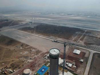 Este es el avance en las obras del Aeropuerto de Santa Lucía