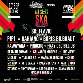 El Orqueska International presenta, All Stars Ska Reggae Sinfónico
