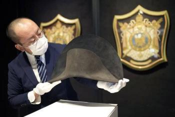 En Londres, subastarán sombrero de Napoleón Bonaparte