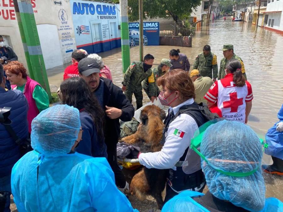 Estas son las acciones del gobierno federal por inundaciones en Hidalgo