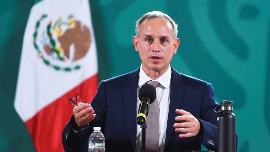 México lleva cuatro semanas a la baja en contagios: Hugo López-Gatell
