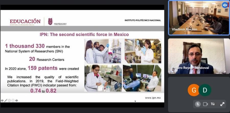 Proyecta IPN colaboración académica, científica, tecnológica y cultural con universidades rusas