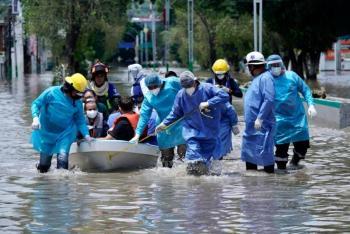 IMSS despliega atención a pacientes afectados por inundación en hospital de Tula