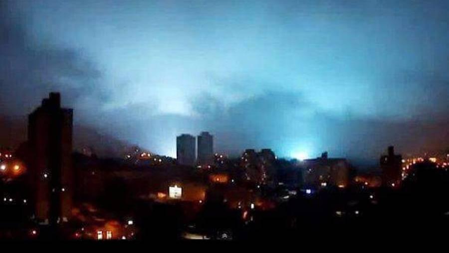¿Qué son las extrañas luces que se vieron en el cielo durante el sismo?