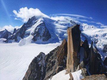 Muere alpinista español en el Mont Blanc