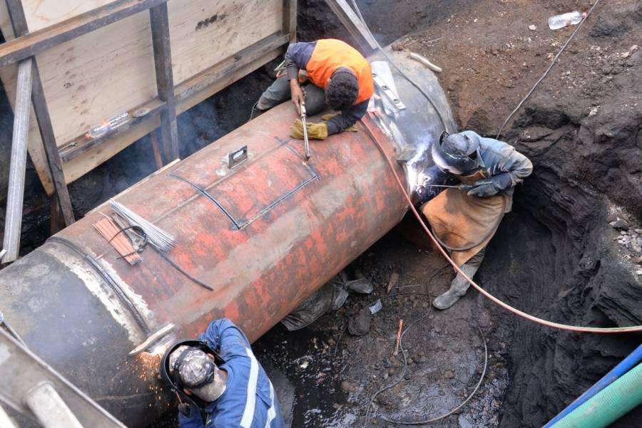 Por fuga en acueducto Tláhuac-Mixquic, Neza quedará temporalmente sin agua