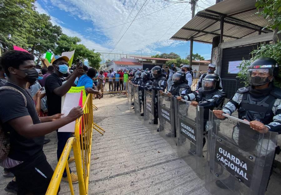 Exige PT garantizar derechos humanos de migrantes en frontera sur