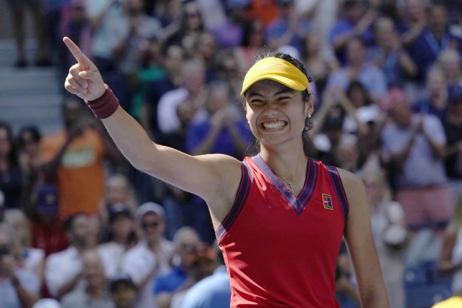 La joven británica Emma Raducanu, la sensación del Abierto de EEUU llega a semifinales