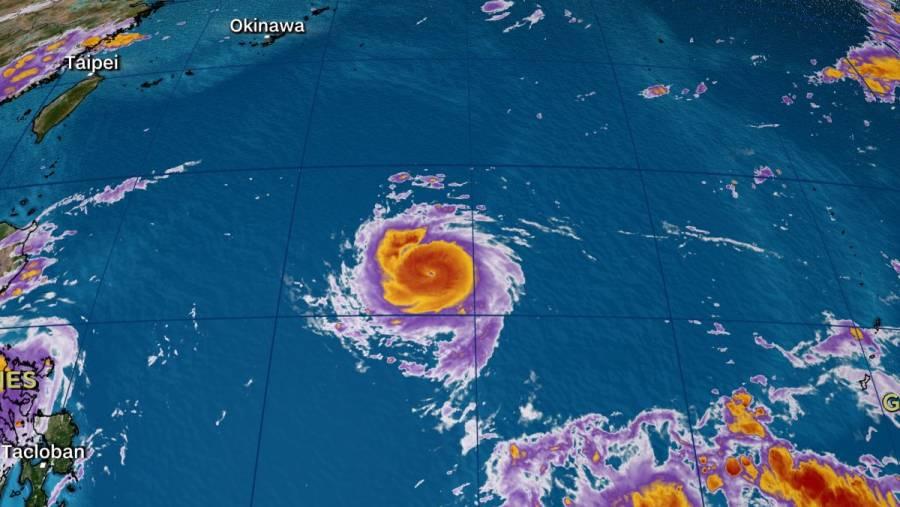 """Taiwán está en alerta ante proximidad de """"Chanthu"""", el tifón bestia"""