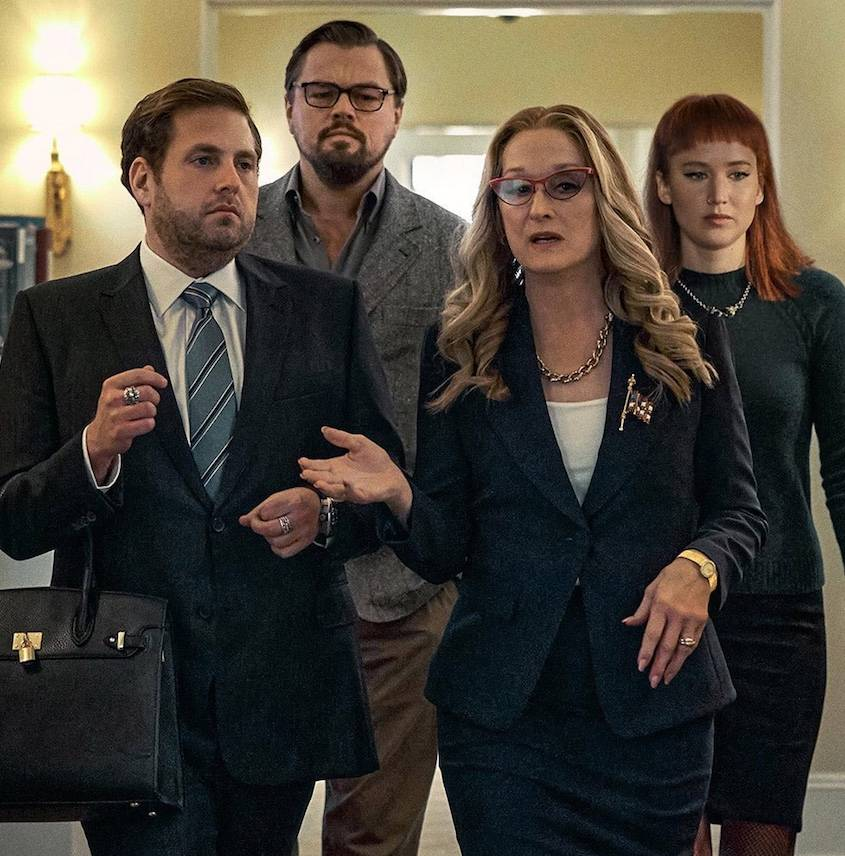 "Netflix libera avance de ""Don't Look Up"", protagonizada por Leonardo DiCaprio y Jennifer Lawrence"