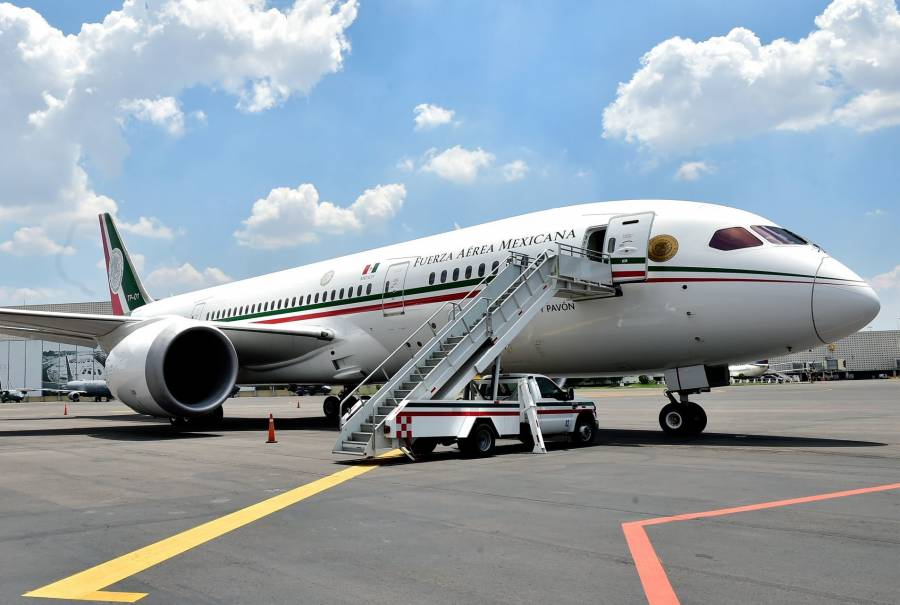 Gobierno de AMLO pide hasta 475 mdp para mantener avión presidencial
