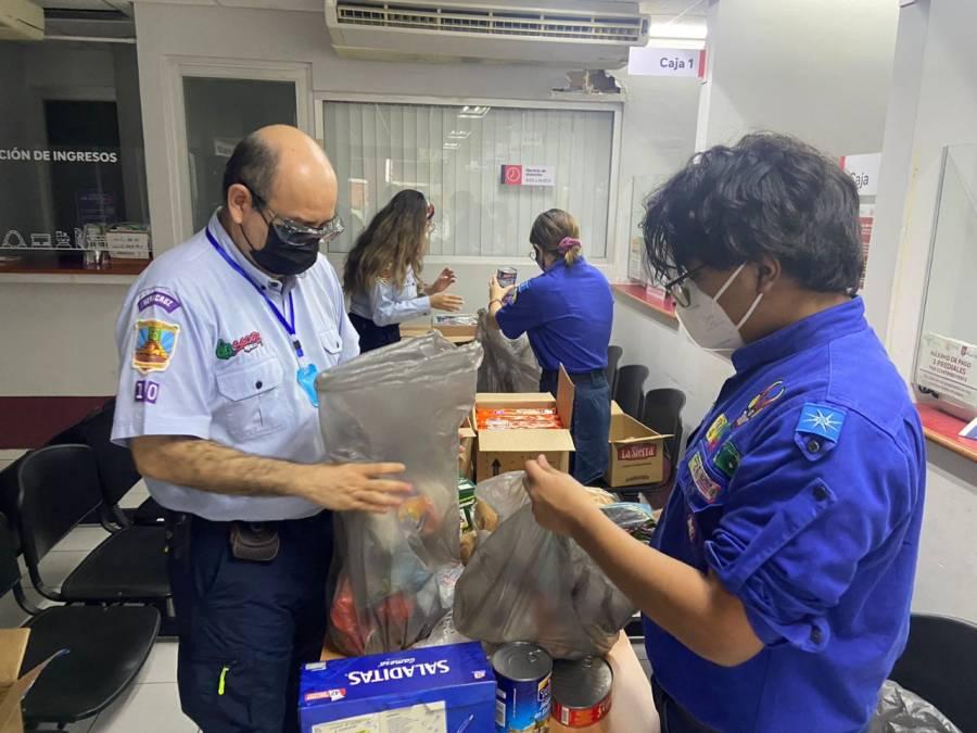 Scouts de México hace un llamado para apoyar a los damnificados del huracán Grace