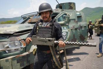 Presuntos integrantes del CJNG amenazan a Policía de Guatemala