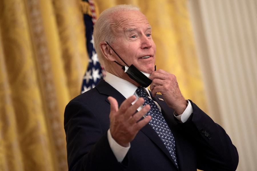 Joe Biden dice que la vacuna contra el Covid-19 para los empleados federales será obligatoria