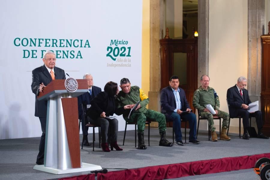 """""""Campaña de desinformación"""" contra su Gobierno por trato a migrantes: AMLO"""