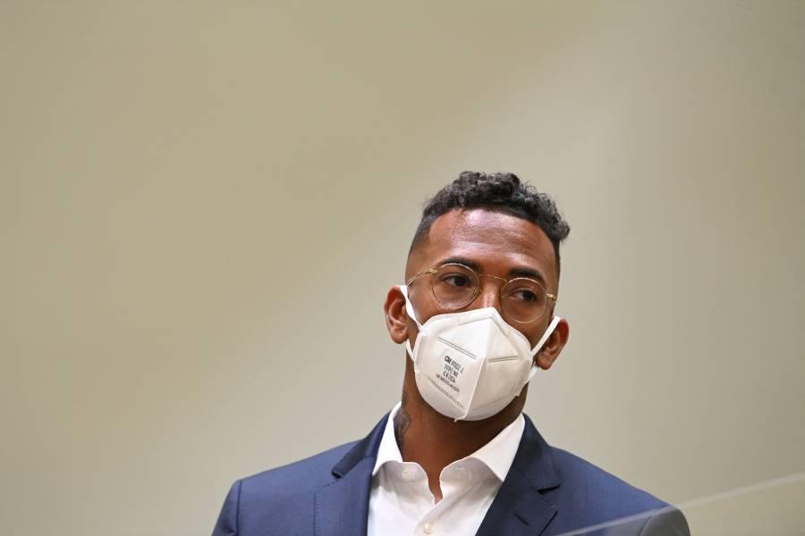 El Jérome Boateng fue condenado y multado por violencia conyugal