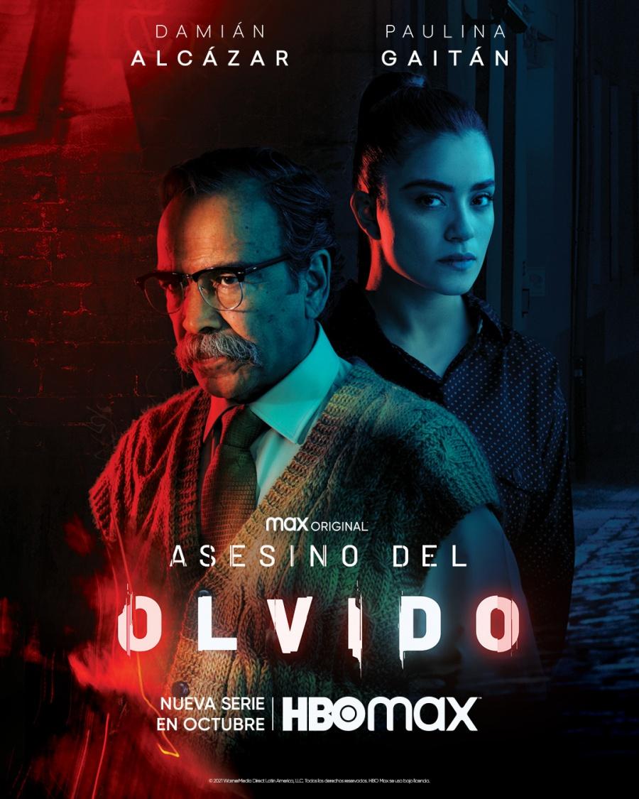 """Damián Alcázar protagoniza """"Asesino del olvido"""", que se estrenará en octubre por HBO Max"""