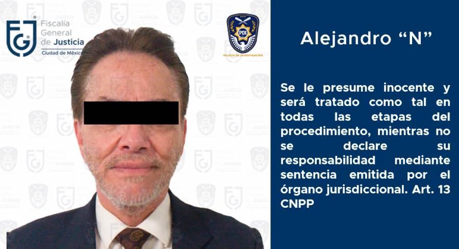 """Dan prisión preventiva a Alejandro """"N"""", presidente de Interjet"""