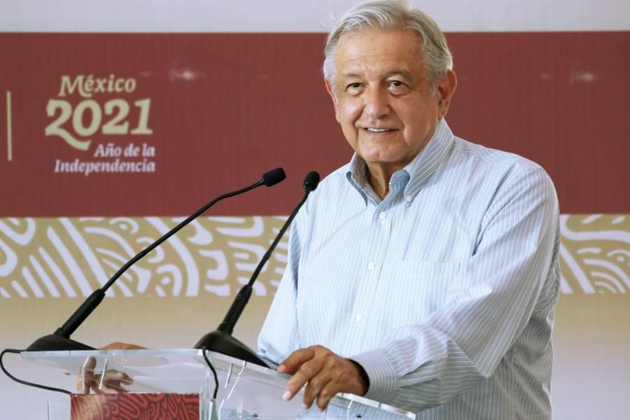 López Obrador supervisa las presas y distritos de riego de Sinaloa