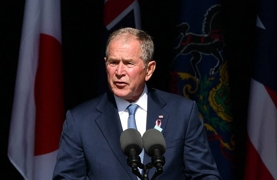 George W. Bush lamenta la desunión de EEUU a 20 años de los atentados del 11-S