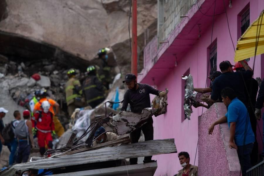Tras deslave en Cerro del Chiquihuite, 80 viviendas serán desalojadas: Alfredo del Mazo