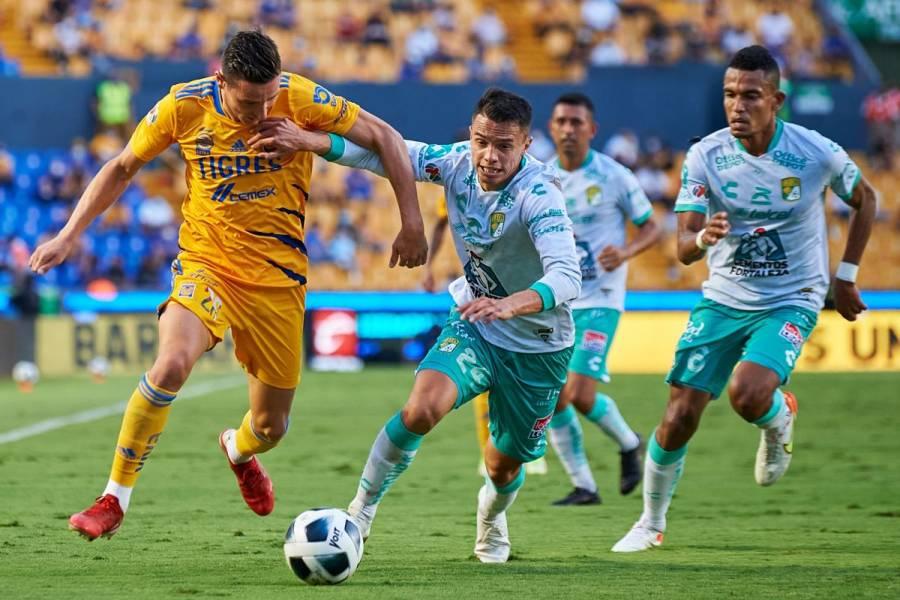 De último minuto, Tigres rescata empate ante León en Liga Mx