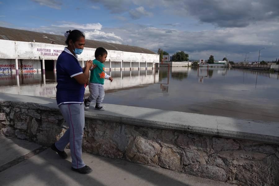 La zona de Tula se encuentra en alerta debido a los pronósticos de lluvias
