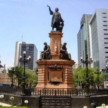 Lanzan petición para regresar estatua de Colón a Paseo de la Reforma