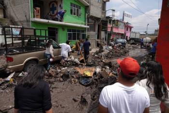 Inicia mañana censo en colonias de Ecatepec afectadas por inundaciones