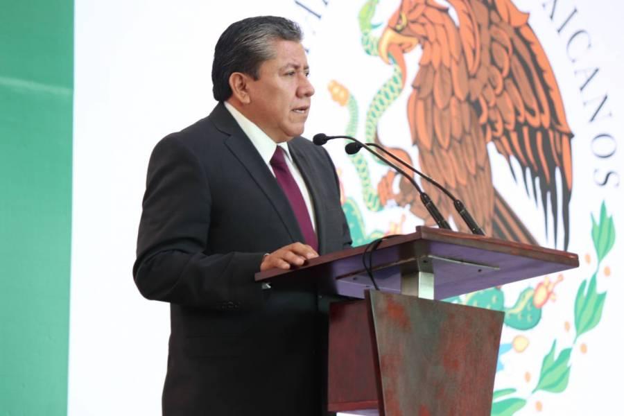 David Monreal toma protesta en Zacatecas