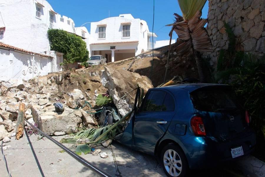Suman tres muertos por sismo de magnitud 7.1 en Guerrero
