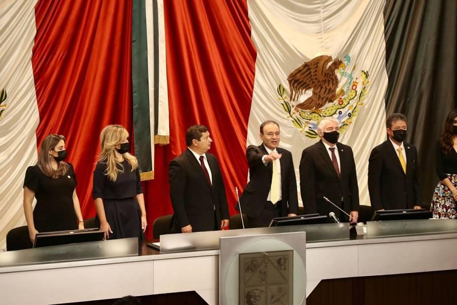 Alfonso Durazo toma posesión como gobernador de Sonora