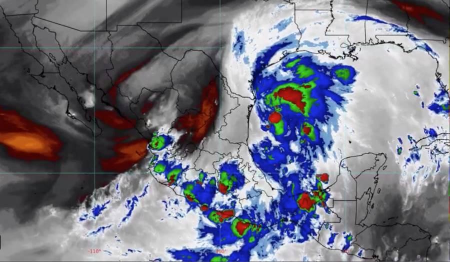 Entra tormenta Nicholas al Golfo de México