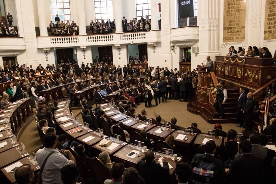 Congreso de la CDMX sesionará a distancia por casos de Covid-19