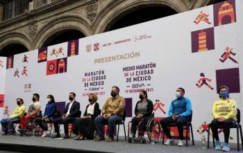 Maratón CDMX atraerá a 20 mil competidores