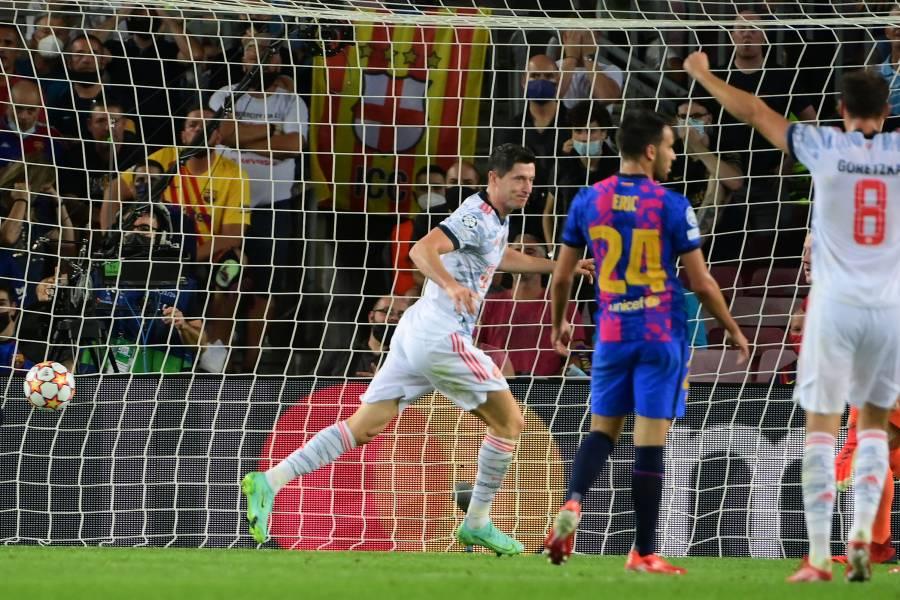 Bayern cumple los pronósticos y golea al Barcelona en la Champions League