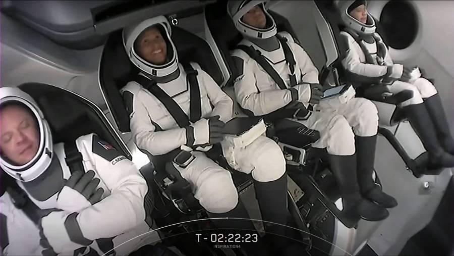 Turistas espaciales de SpaceX, listos para el lanzamiento