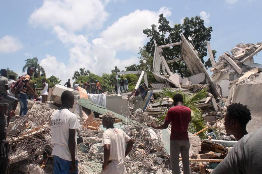 OPS indica que la inseguridad impide ayuda en Haití tras sismo