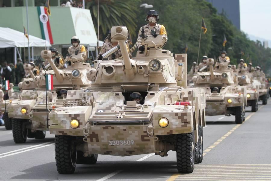 Adelantan una hora el desfile militar del 16 de septiembre
