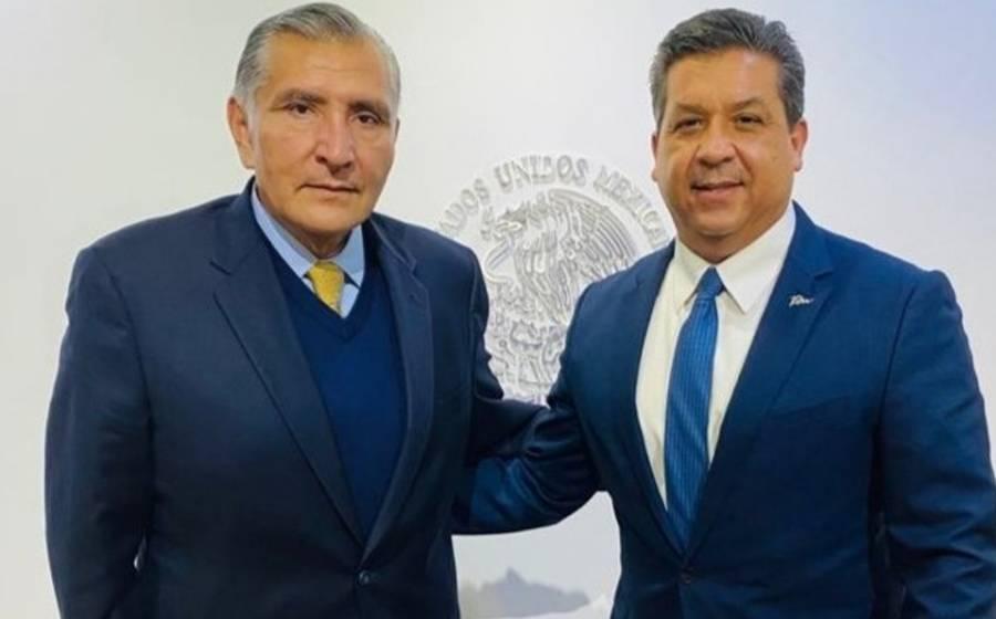 Adán Augusto López se reúne con Francisco García Cabeza de Vaca