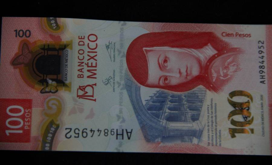 El billete de $100 recibe premio por parte de la International Bank Note Society