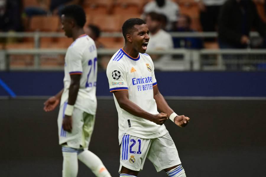 De último minuto, Rodrygo da el triunfo al Real Madrid sobre el Inter