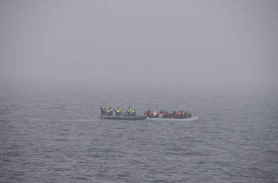 En el canal de la Mancha rescatan a 91 migrantes que intentaban llegar a Inglaterra
