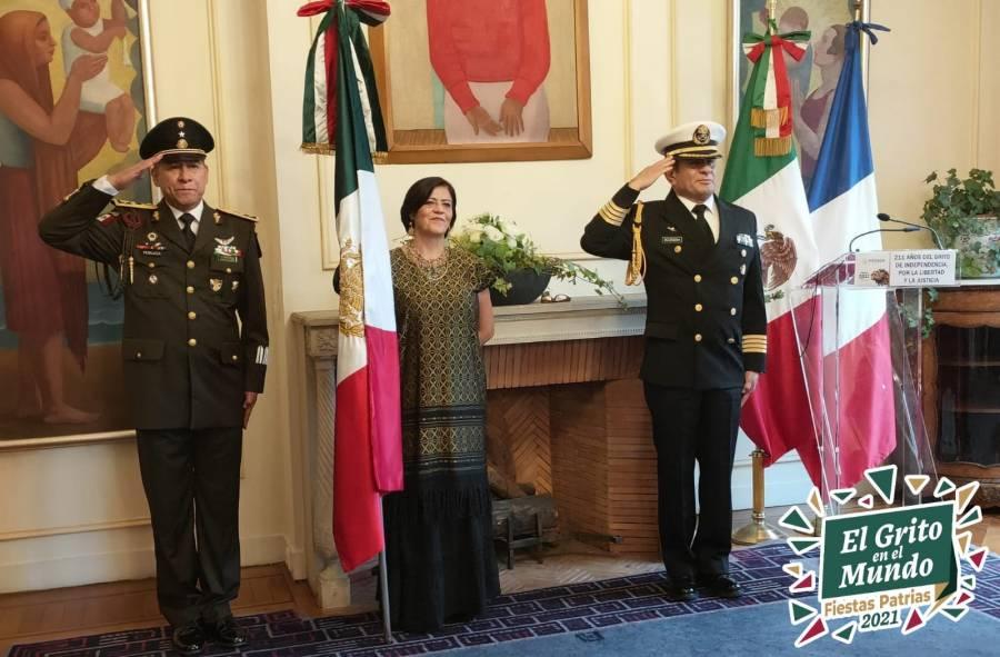 Festejan en el mundo Independencia de México