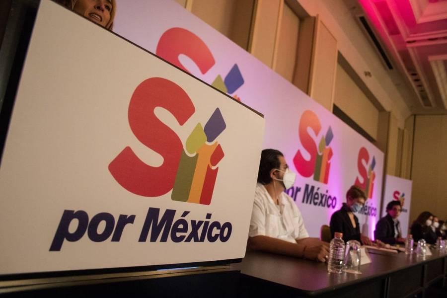 """""""Sí por México"""" llama a no participar en la consulta de revocación de mandato"""