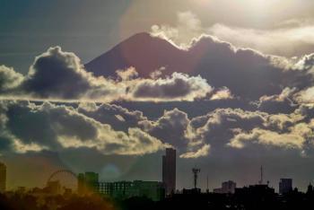 Popocatépetl vuelve a estremecerse este día