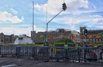 Estos son los cierres viales en el Zócalo por fiestas patrias